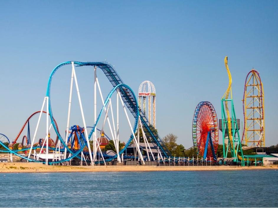 Cedar Point Amusement Park F