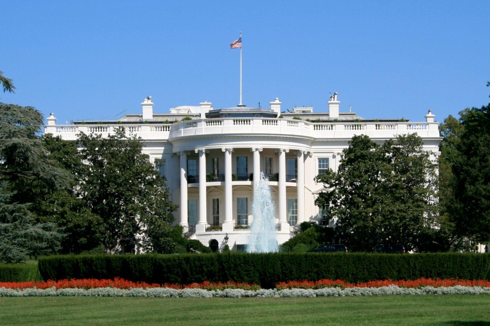 Белият дом във Вашингтон
