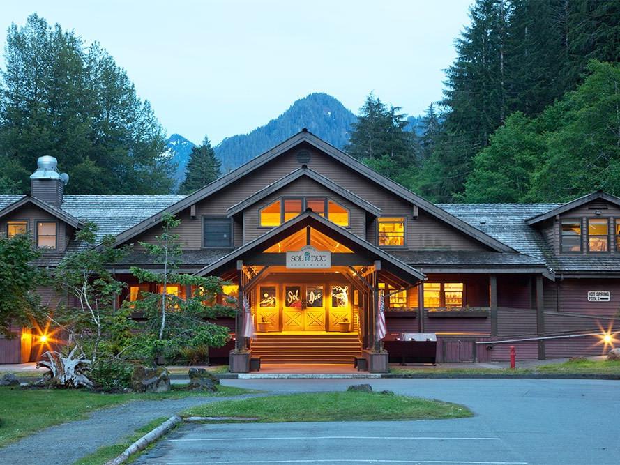Aramark Olympic Peninsula Log Cabin Resort F