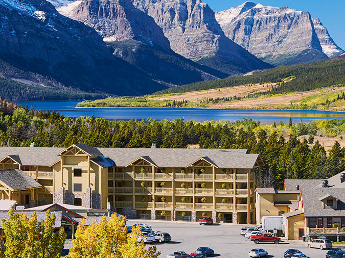Glacier park inc saint mary lodge and resort gotousa for St mary lodge and cabins