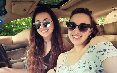 Две сестрички в голямата Америка