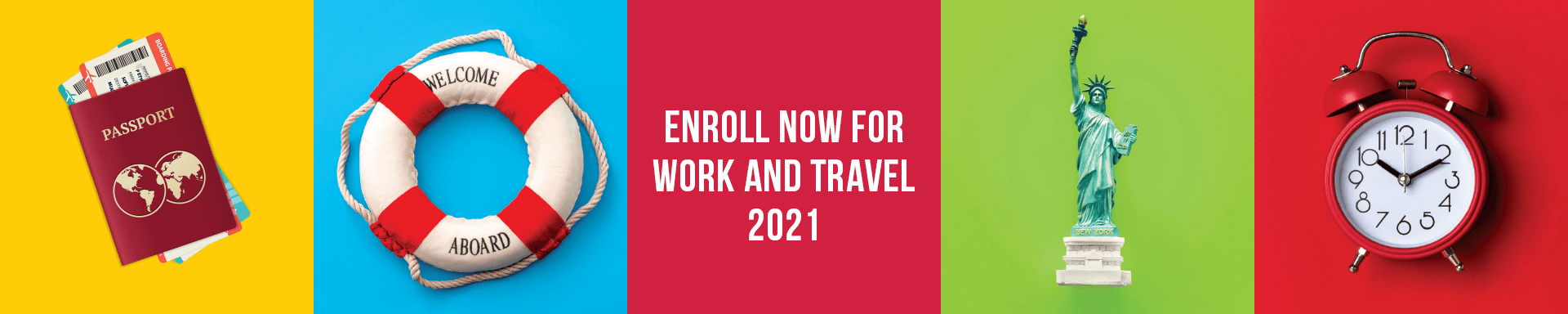 Enroll now for Work and Travel USA 2021 with Usit Colours